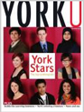 Cover of YorkU magazine's December 2010 issue