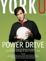 Cover of YorkU magazine's February 2008 issue