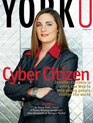 Cover of YorkU magazine's October 2007 issue