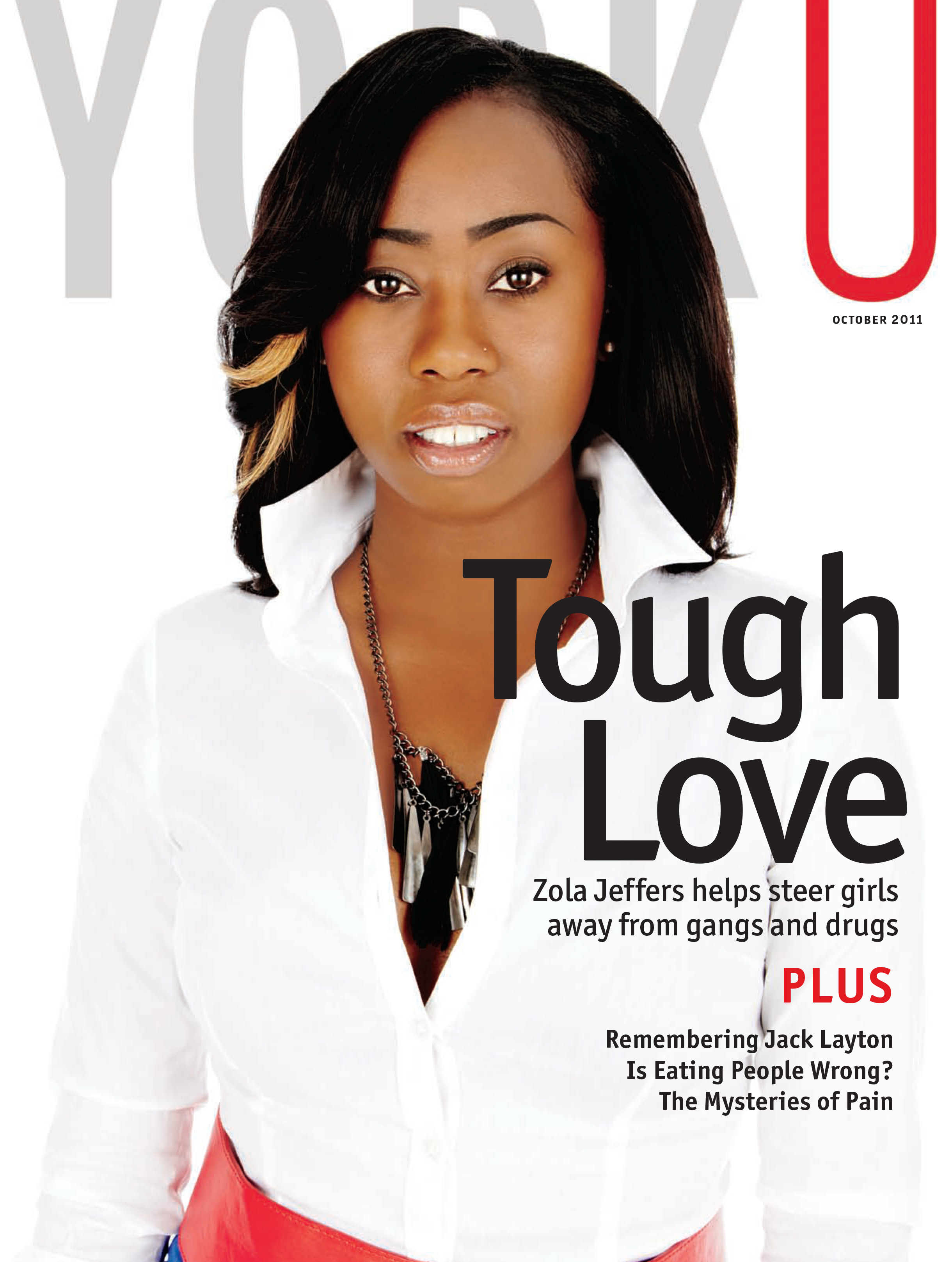 Cover of YorkU magazine's October 2011 issue