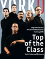 Cover of YorkU magazine's December 2003 issue