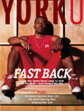 Cover of YorkU magazine's April 2005 issue