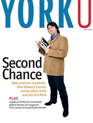 Cover of YorkU magazine's April 2008 issue