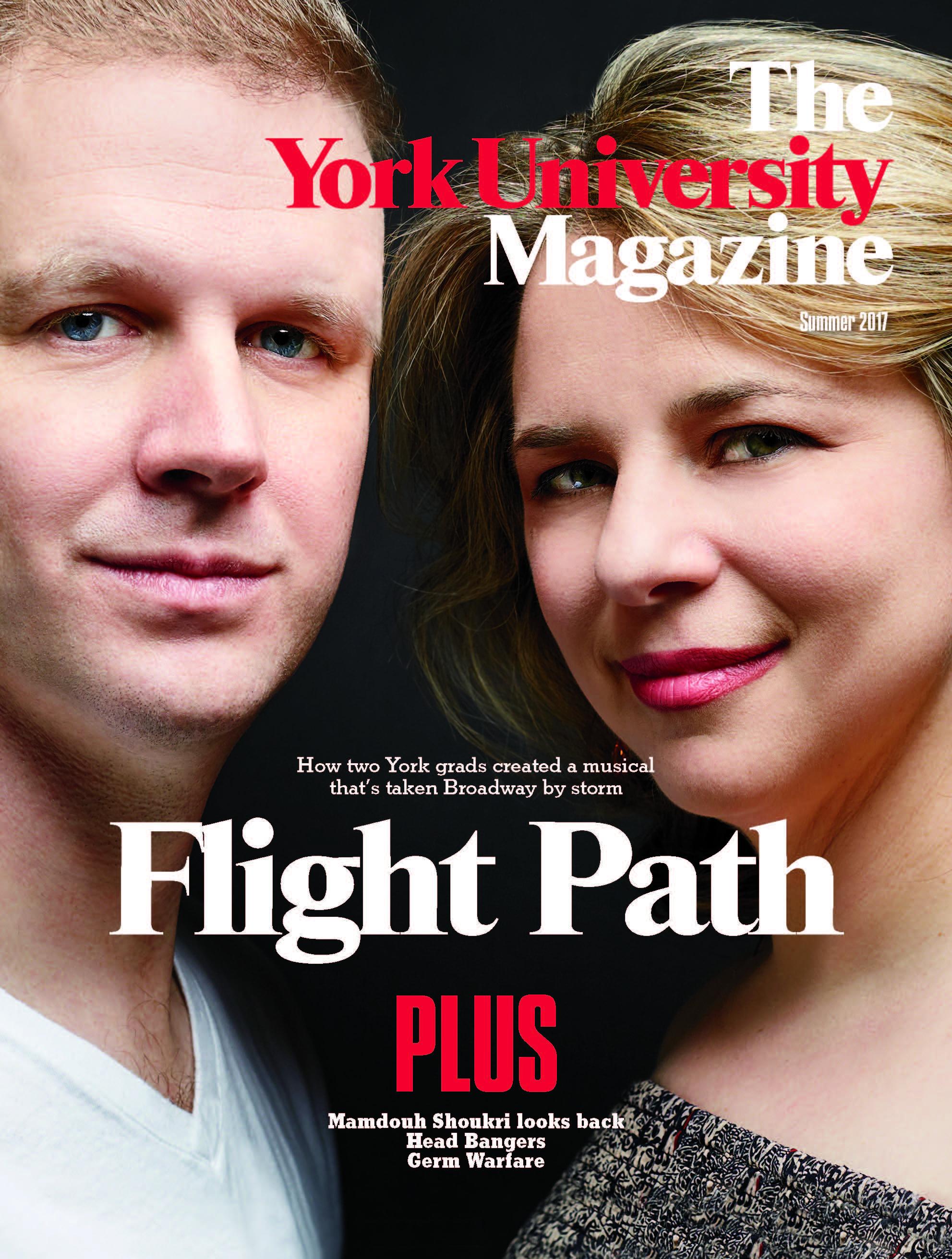 YorkU Summer magazine cover
