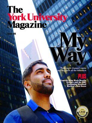 The York University Magazine Summer 2018 cover