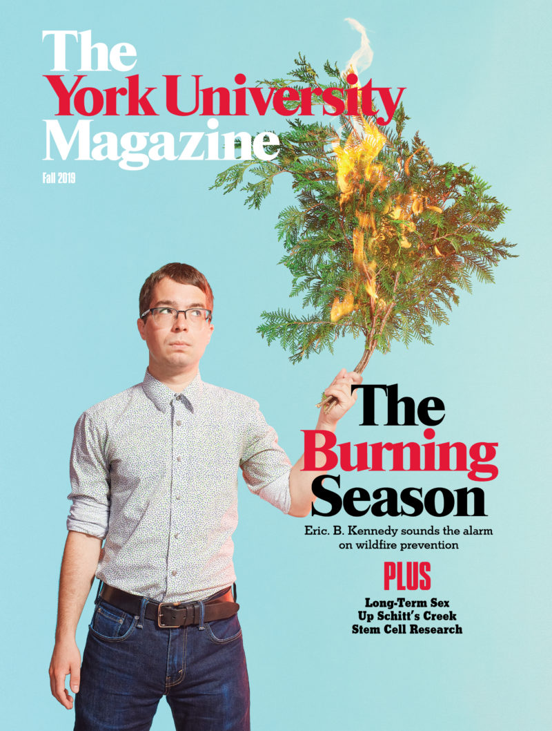 The York University Magazine Fall 2019 cover